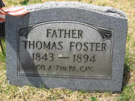 FOSTER (CW), THOMAS - Schuylkill County, Pennsylvania | THOMAS FOSTER (CW) - Pennsylvania Gravestone Photos