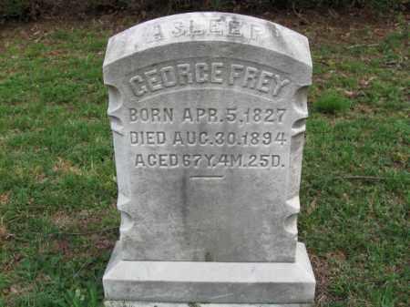 FREY, GEORGE - Schuylkill County, Pennsylvania | GEORGE FREY - Pennsylvania Gravestone Photos