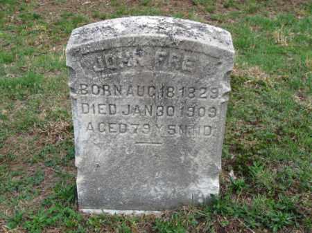 FREY, JOHN - Schuylkill County, Pennsylvania | JOHN FREY - Pennsylvania Gravestone Photos