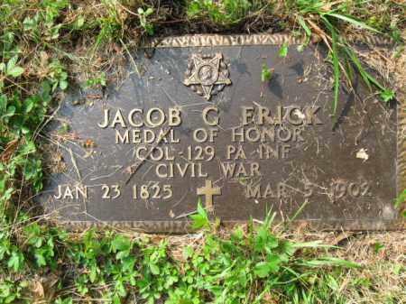 FRICK (CW), COLONEL JACOB GELLERT - Schuylkill County, Pennsylvania   COLONEL JACOB GELLERT FRICK (CW) - Pennsylvania Gravestone Photos