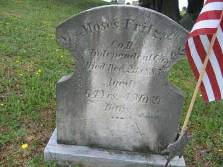 FRITZ (CW), MOSES - Schuylkill County, Pennsylvania | MOSES FRITZ (CW) - Pennsylvania Gravestone Photos