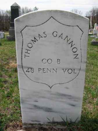 GANNON (CW), THOMAS - Schuylkill County, Pennsylvania | THOMAS GANNON (CW) - Pennsylvania Gravestone Photos