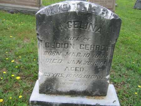 GEHRET, ANGELINA - Schuylkill County, Pennsylvania   ANGELINA GEHRET - Pennsylvania Gravestone Photos