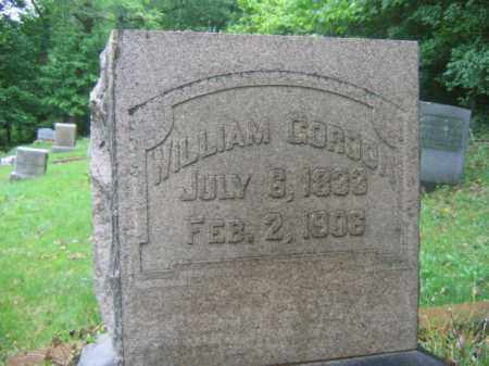 GORDON, WILLIAM - Schuylkill County, Pennsylvania | WILLIAM GORDON - Pennsylvania Gravestone Photos
