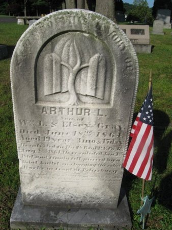 GRAY (CW), ARTHUR L. - Schuylkill County, Pennsylvania | ARTHUR L. GRAY (CW) - Pennsylvania Gravestone Photos
