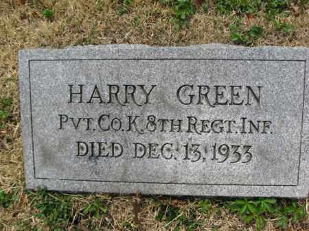 GREEN (SAW), PVT.HARRY - Schuylkill County, Pennsylvania | PVT.HARRY GREEN (SAW) - Pennsylvania Gravestone Photos