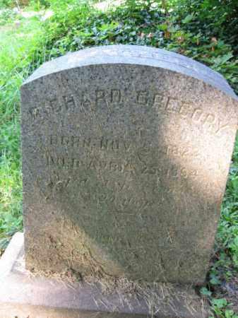 GREGORY (CW), RICHARD - Schuylkill County, Pennsylvania   RICHARD GREGORY (CW) - Pennsylvania Gravestone Photos