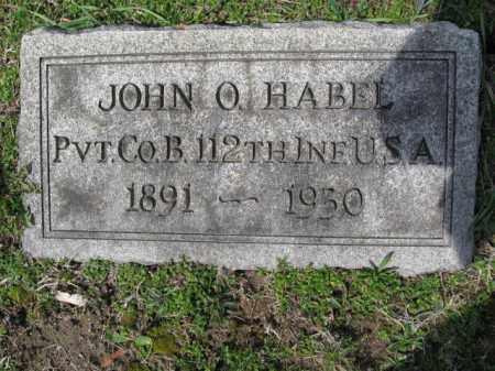 HABEE  (WW I), JOHN O. - Schuylkill County, Pennsylvania | JOHN O. HABEE  (WW I) - Pennsylvania Gravestone Photos