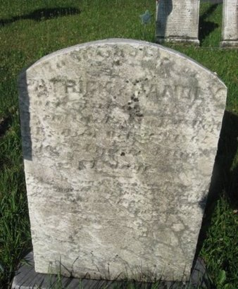 HANDLY (CW), PATRICK - Schuylkill County, Pennsylvania   PATRICK HANDLY (CW) - Pennsylvania Gravestone Photos