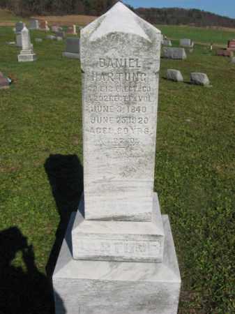 HARTUNG (CW), DANIEL - Schuylkill County, Pennsylvania | DANIEL HARTUNG (CW) - Pennsylvania Gravestone Photos