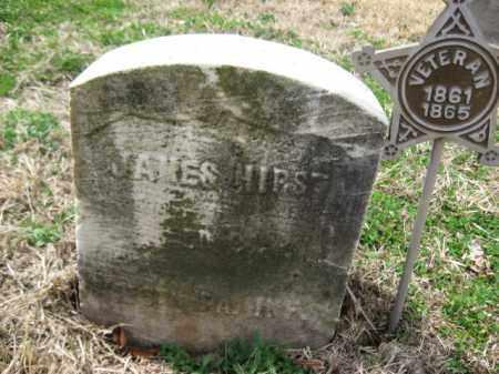 HIRST (CW), JMAES - Schuylkill County, Pennsylvania | JMAES HIRST (CW) - Pennsylvania Gravestone Photos