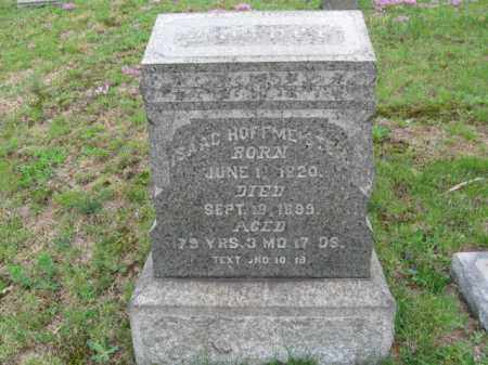 HOFFMEISTER, ISAAC - Schuylkill County, Pennsylvania   ISAAC HOFFMEISTER - Pennsylvania Gravestone Photos