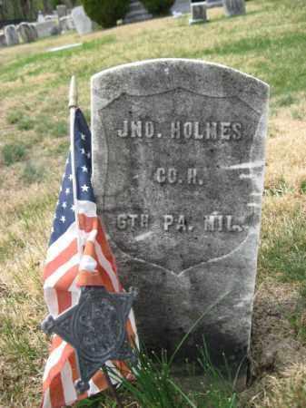 HOLMES (CW), JOHN - Schuylkill County, Pennsylvania | JOHN HOLMES (CW) - Pennsylvania Gravestone Photos