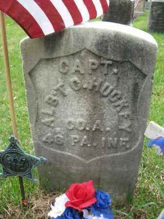 HUCKEY (CW), CAPT.ALBERT C. - Schuylkill County, Pennsylvania | CAPT.ALBERT C. HUCKEY (CW) - Pennsylvania Gravestone Photos