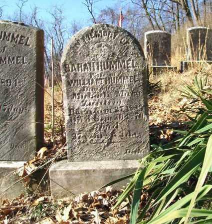 HUMMEL, SARAH - Schuylkill County, Pennsylvania   SARAH HUMMEL - Pennsylvania Gravestone Photos