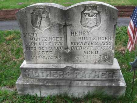 HUNTZINGER CW), HENRY - Schuylkill County, Pennsylvania | HENRY HUNTZINGER CW) - Pennsylvania Gravestone Photos