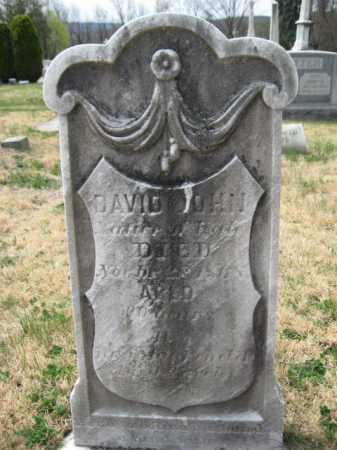 JOHN (CW), DAVID - Schuylkill County, Pennsylvania | DAVID JOHN (CW) - Pennsylvania Gravestone Photos