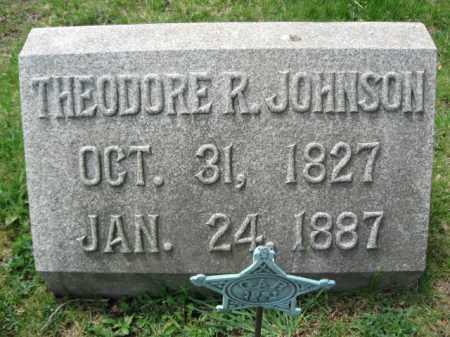 JOHNSON (CW), THEODORE R. - Schuylkill County, Pennsylvania   THEODORE R. JOHNSON (CW) - Pennsylvania Gravestone Photos
