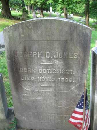 JONES, JOSEPH D. - Schuylkill County, Pennsylvania | JOSEPH D. JONES - Pennsylvania Gravestone Photos