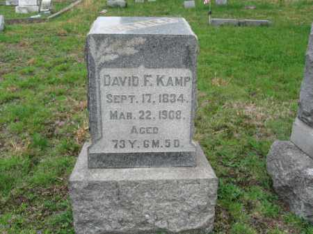 KAMP, DAVID F. - Schuylkill County, Pennsylvania | DAVID F. KAMP - Pennsylvania Gravestone Photos