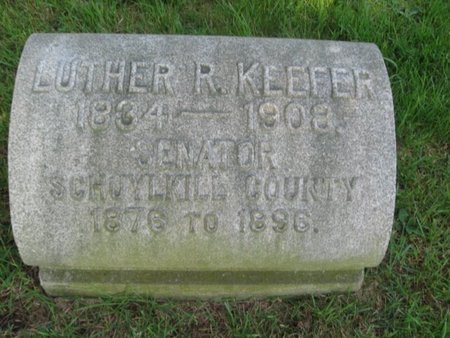 KEEFER, SAMUEL R. - Schuylkill County, Pennsylvania | SAMUEL R. KEEFER - Pennsylvania Gravestone Photos