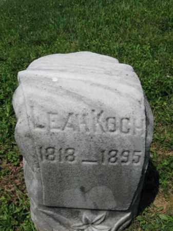 KOCH, LEAH - Schuylkill County, Pennsylvania | LEAH KOCH - Pennsylvania Gravestone Photos