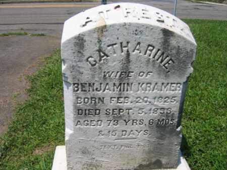KRAMER, CATHERINE - Schuylkill County, Pennsylvania | CATHERINE KRAMER - Pennsylvania Gravestone Photos