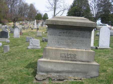 KREBS, HENRY, SR. - Schuylkill County, Pennsylvania | HENRY, SR. KREBS - Pennsylvania Gravestone Photos