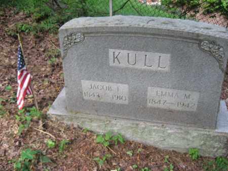 KULL (CW), JACOB F. - Schuylkill County, Pennsylvania | JACOB F. KULL (CW) - Pennsylvania Gravestone Photos