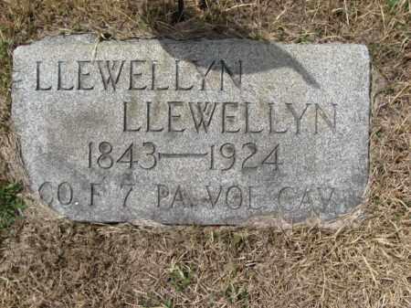 LLEWELLYN (CW), LLEWELLYN - Schuylkill County, Pennsylvania | LLEWELLYN LLEWELLYN (CW) - Pennsylvania Gravestone Photos