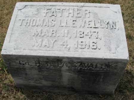 LLEWELLYN (CW), THOMAS - Schuylkill County, Pennsylvania | THOMAS LLEWELLYN (CW) - Pennsylvania Gravestone Photos