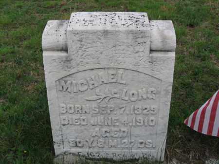 LONG (CW), MICHAEL - Schuylkill County, Pennsylvania | MICHAEL LONG (CW) - Pennsylvania Gravestone Photos
