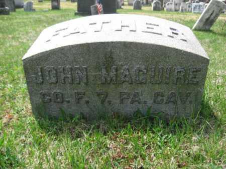 MAGUIRE (CW), JOHN - Schuylkill County, Pennsylvania | JOHN MAGUIRE (CW) - Pennsylvania Gravestone Photos
