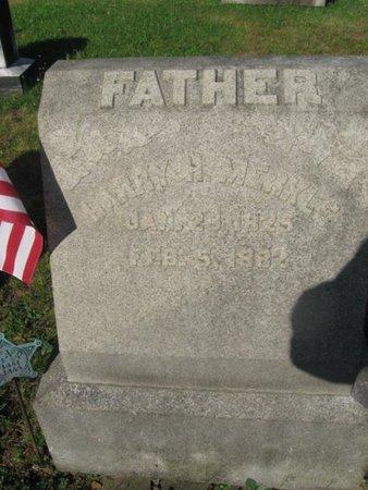 MERKLE (CW), HARRY (HENRY) H. - Schuylkill County, Pennsylvania   HARRY (HENRY) H. MERKLE (CW) - Pennsylvania Gravestone Photos