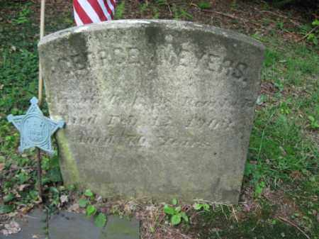 MEYERS (CW), GEORGE - Schuylkill County, Pennsylvania | GEORGE MEYERS (CW) - Pennsylvania Gravestone Photos