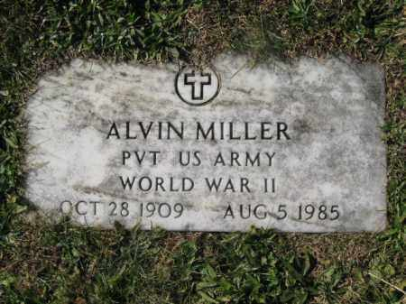 MILLER (WW II), ALVIN - Schuylkill County, Pennsylvania | ALVIN MILLER (WW II) - Pennsylvania Gravestone Photos