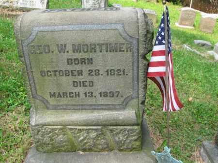 MORTIMORE, GEORGE W. - Schuylkill County, Pennsylvania | GEORGE W. MORTIMORE - Pennsylvania Gravestone Photos