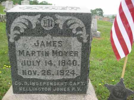 MOYER (CW), JAMES MARTIN - Schuylkill County, Pennsylvania | JAMES MARTIN MOYER (CW) - Pennsylvania Gravestone Photos