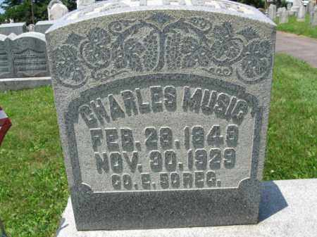 MUSIG (CW), CHARLES - Schuylkill County, Pennsylvania | CHARLES MUSIG (CW) - Pennsylvania Gravestone Photos