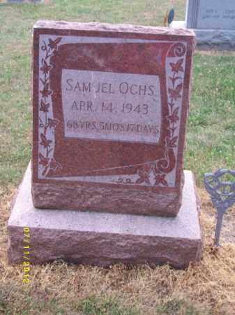 OCHS, SAMUEL - Schuylkill County, Pennsylvania   SAMUEL OCHS - Pennsylvania Gravestone Photos