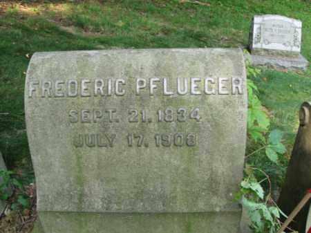 PFLUEGER, FREDERIC - Schuylkill County, Pennsylvania | FREDERIC PFLUEGER - Pennsylvania Gravestone Photos