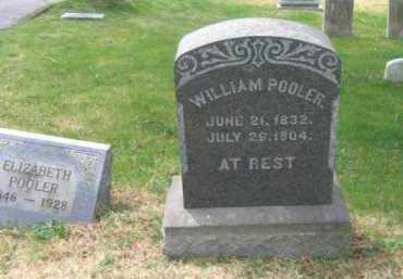 POOLER, WILLIAM - Schuylkill County, Pennsylvania   WILLIAM POOLER - Pennsylvania Gravestone Photos