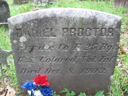 PROCTOR (CW), PVT.DANIEL - Schuylkill County, Pennsylvania | PVT.DANIEL PROCTOR (CW) - Pennsylvania Gravestone Photos