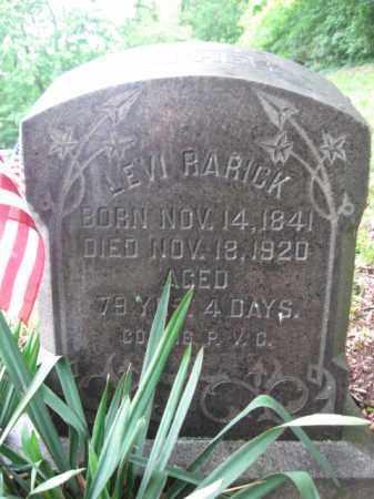 RARICK (CW), LEVI - Schuylkill County, Pennsylvania | LEVI RARICK (CW) - Pennsylvania Gravestone Photos