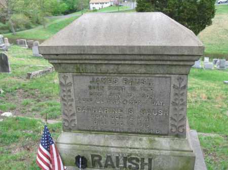 RAUSH (CW), JAMES - Schuylkill County, Pennsylvania | JAMES RAUSH (CW) - Pennsylvania Gravestone Photos
