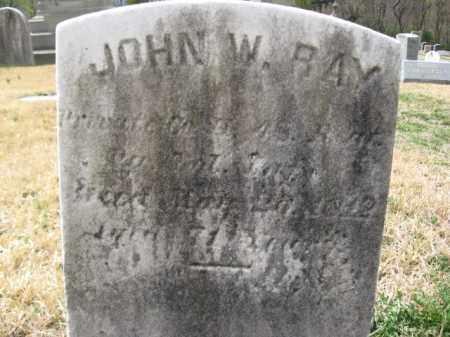 RAY (CW), JOHN W. - Schuylkill County, Pennsylvania   JOHN W. RAY (CW) - Pennsylvania Gravestone Photos