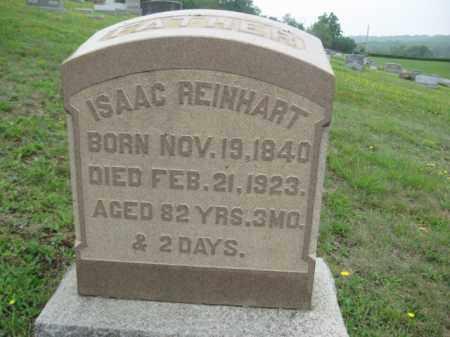 REINHART, ISAAC - Schuylkill County, Pennsylvania | ISAAC REINHART - Pennsylvania Gravestone Photos