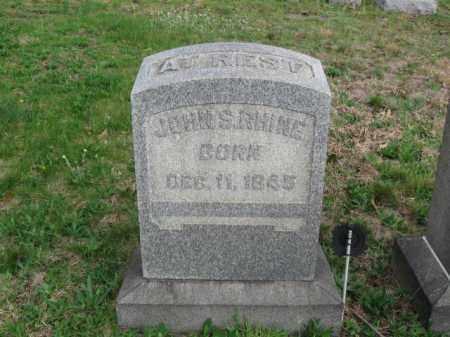 RHINE, JOHN S. - Schuylkill County, Pennsylvania | JOHN S. RHINE - Pennsylvania Gravestone Photos