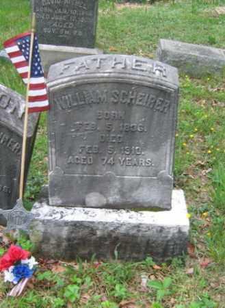 SCHEIER (CW), WILLIAM - Schuylkill County, Pennsylvania | WILLIAM SCHEIER (CW) - Pennsylvania Gravestone Photos