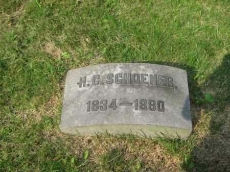 SCHOENER (CW), H.CURTIS - Schuylkill County, Pennsylvania | H.CURTIS SCHOENER (CW) - Pennsylvania Gravestone Photos